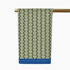 Honey and Hank Tennis Stripe Tea Towel Courtside