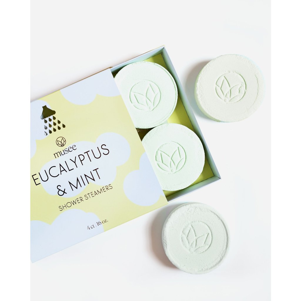 Musee Therapy Eucalyptus & Mint Shower Steamers