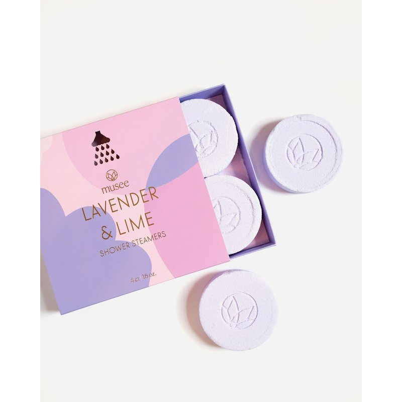 Musee Therapy Lavender & Lime Shower Steamers