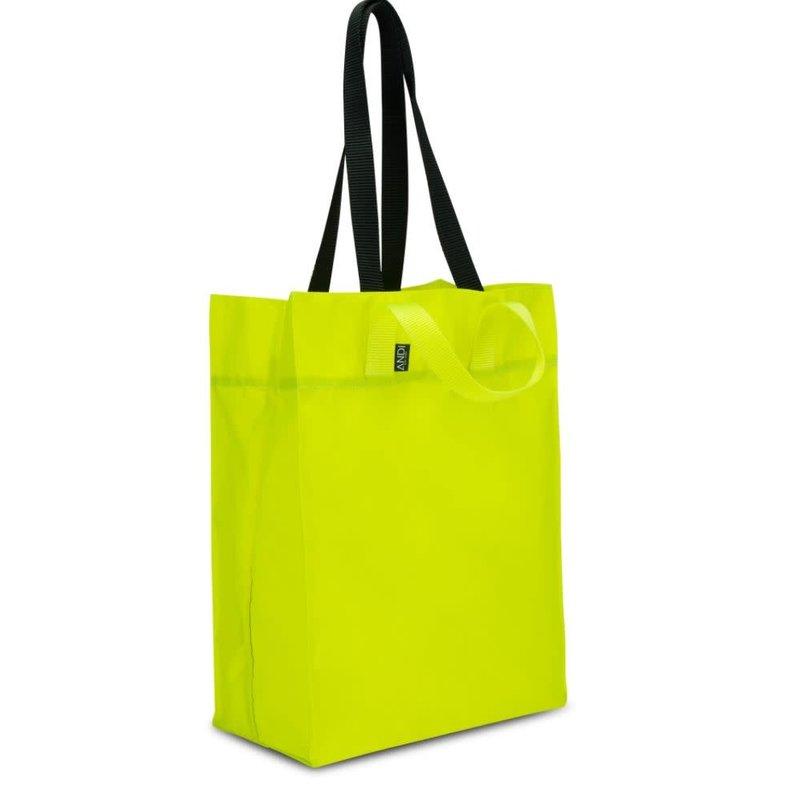 Andi Origami Tote Neon Lemon