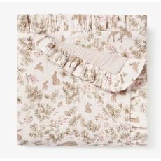 Elegant Baby Bunny Print Blanket