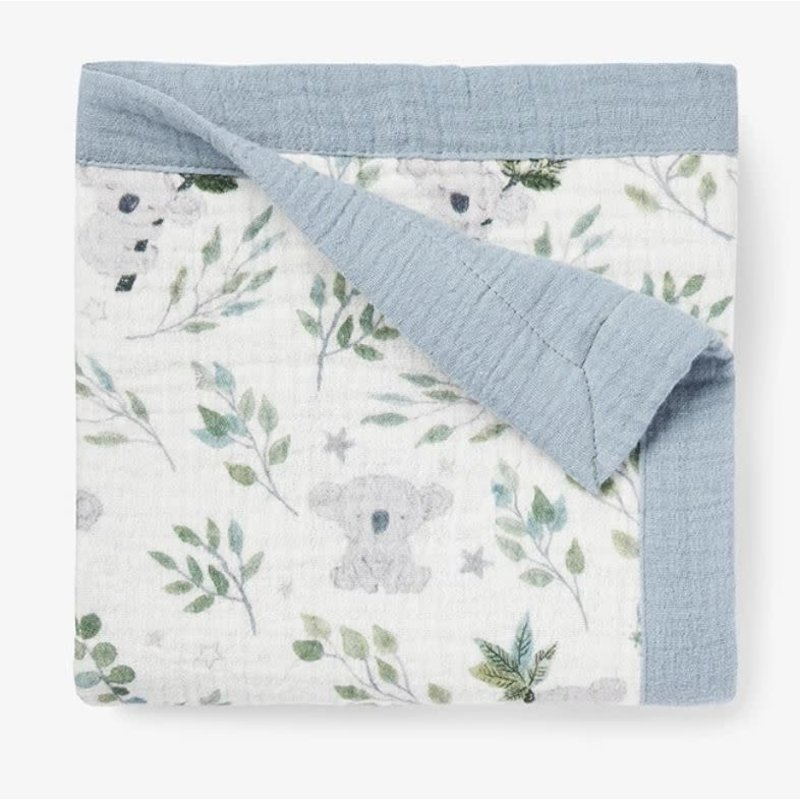 Elegant Baby Koala Print Blanket