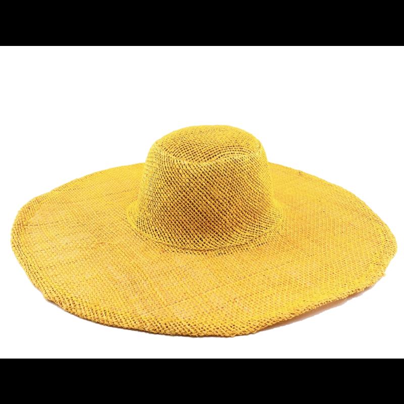 Shebobo Betty Sisal Sun Hat- Saffron