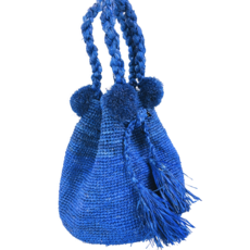 Shebobo Hobo Straw Crochet Handbag- Santorini