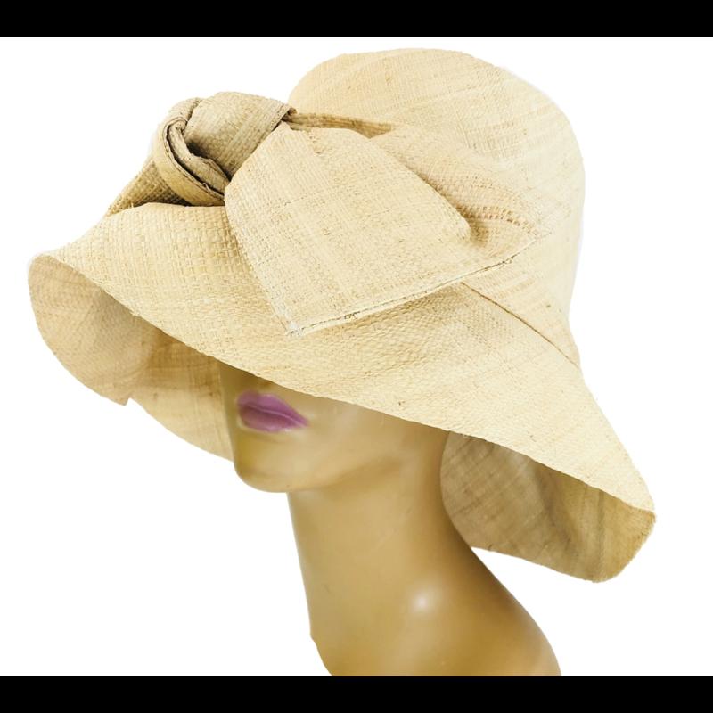 Shebobo Cara Straw Hat- Natural Bow