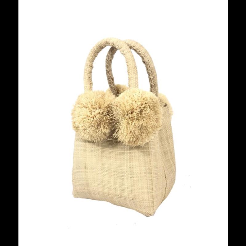 Shebobo Schooner Straw Mini Bag Natural