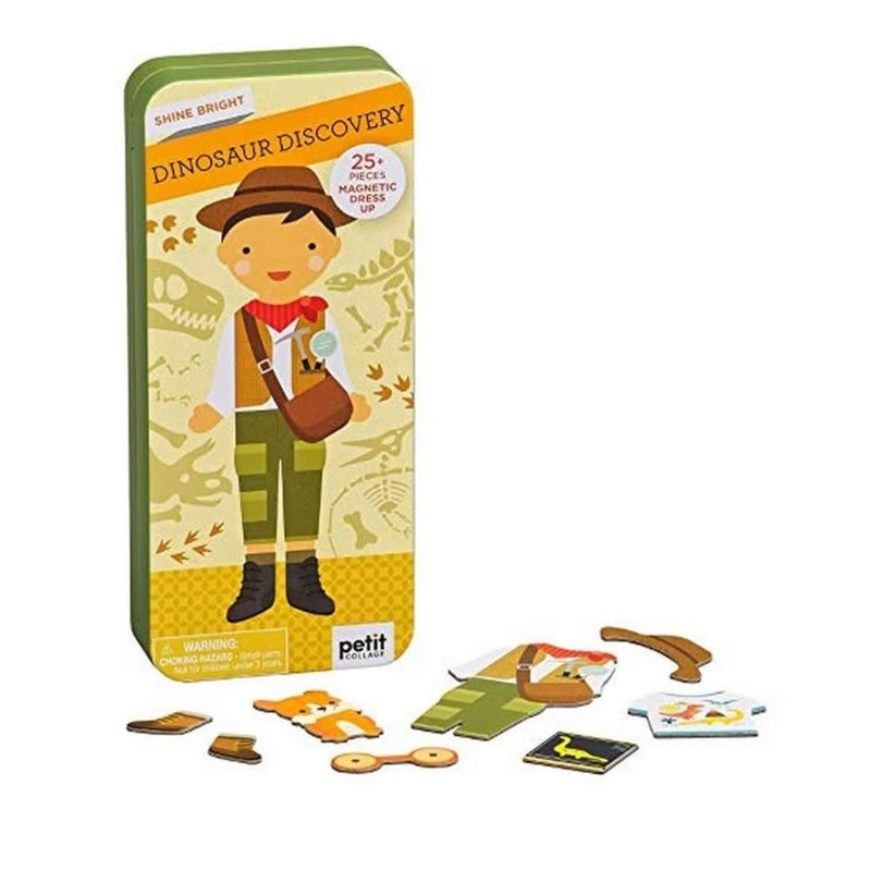 Hachette Dinosaur Discovery Magnetic Dress Up