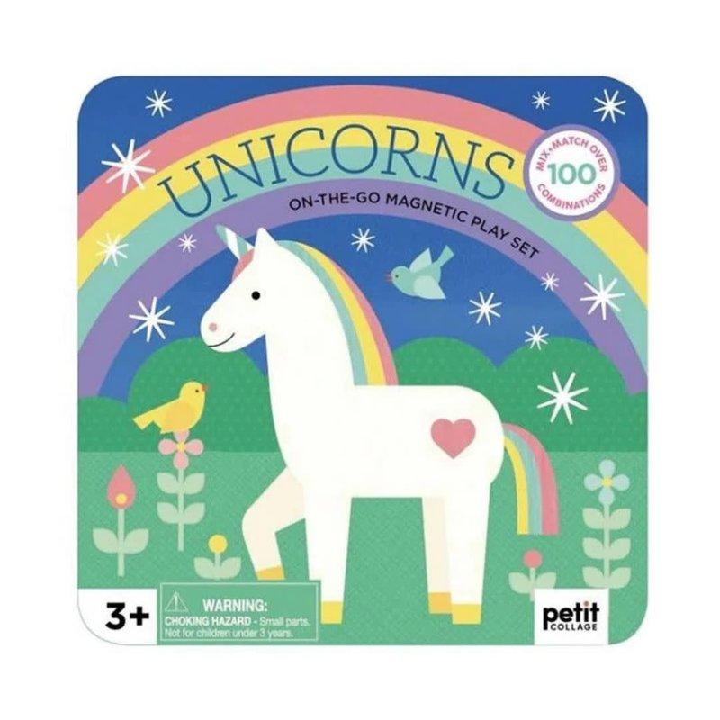 Hachette Unicorns Magnetic Play Set