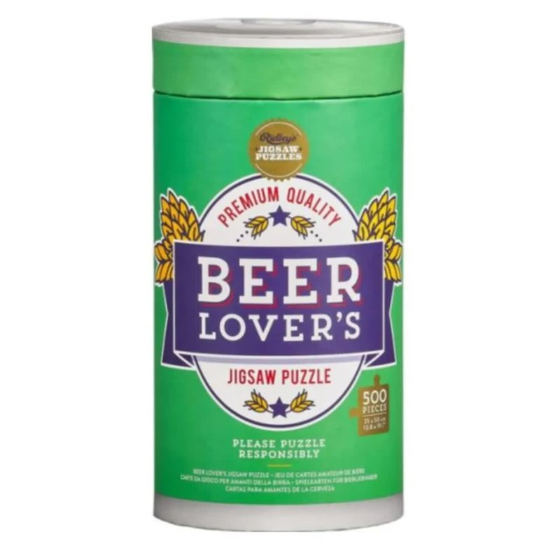 Hachette Beer Lover's Jigsaw Puzzle