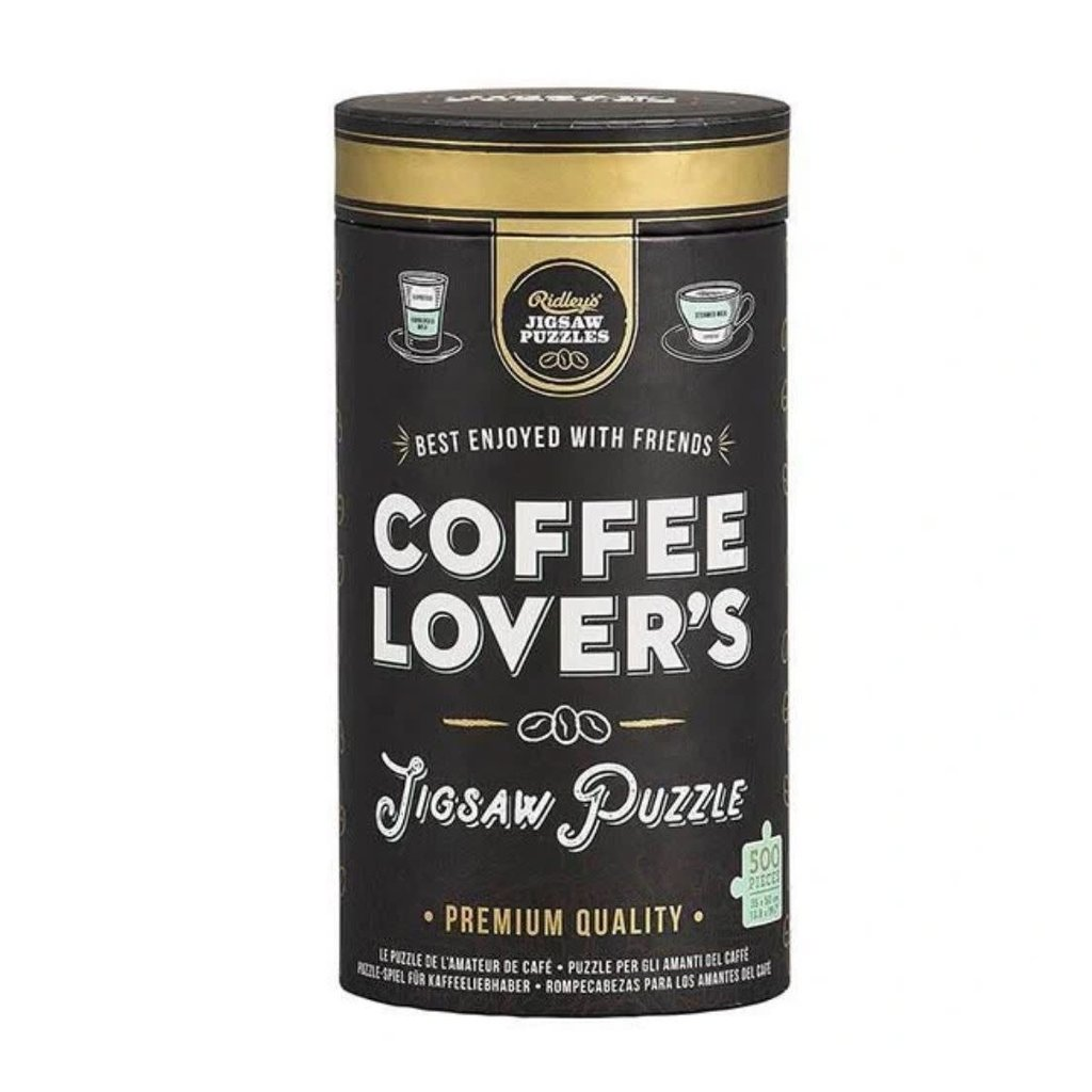 Hachette Coffee Lover's Jigsaw Puzzle