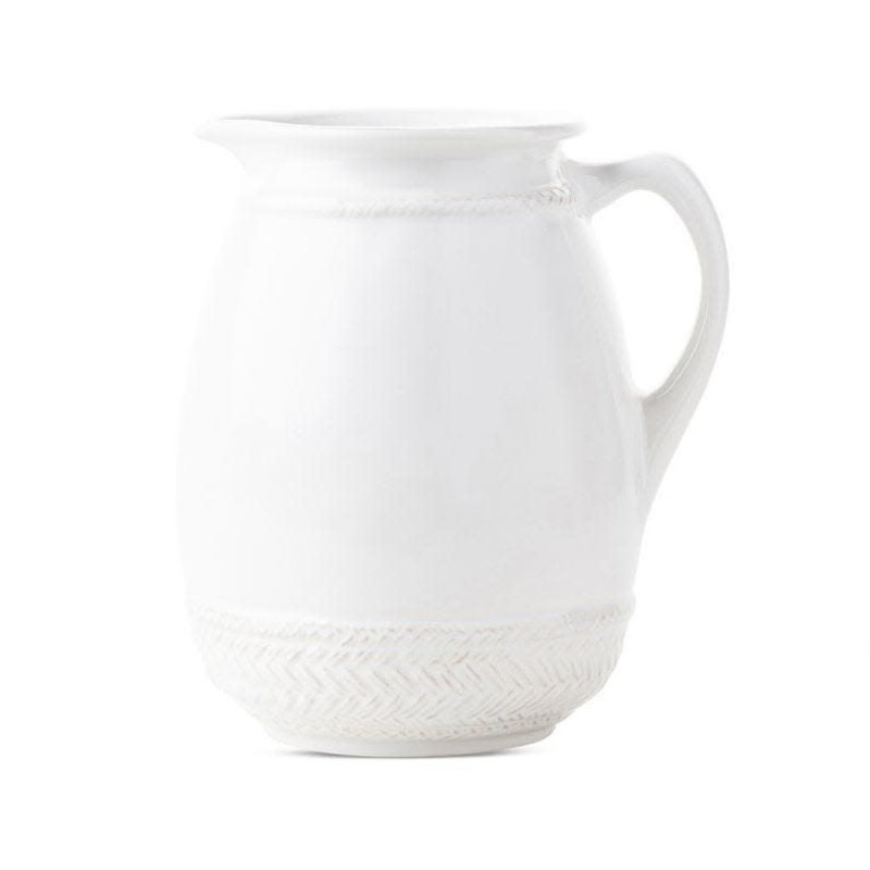 Juliska Pitcher/Vase Le Panier White 8.25''
