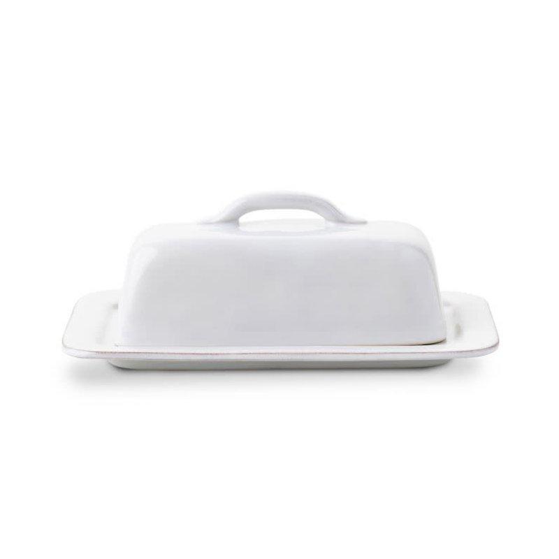 Juliska Puro Whitewash Butter Dish