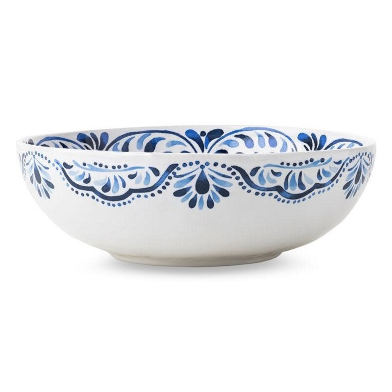 Juliska Serving Bowl Iberian Indigo 11'' W