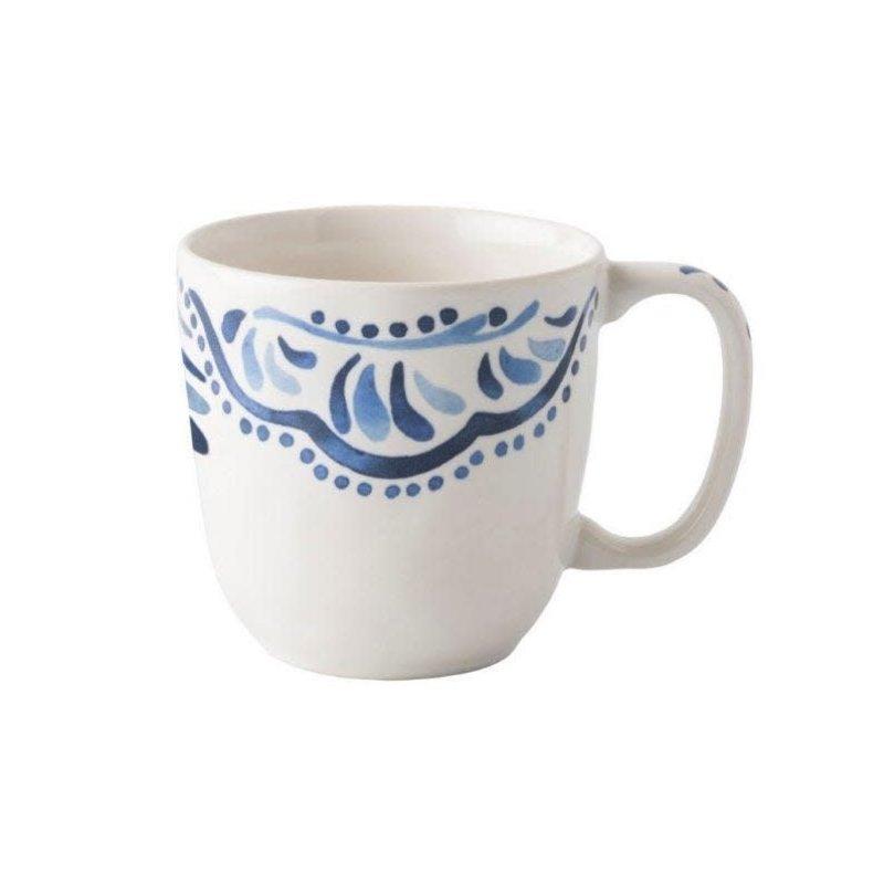 Juliska Coffea Cup Iberian Indigo 3.75''H