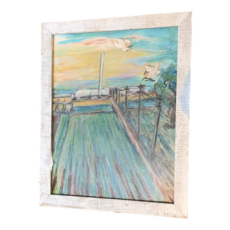 Lorraine Gendron Lorraine Gendron Field Painting 12 1/2 x 15 1/2