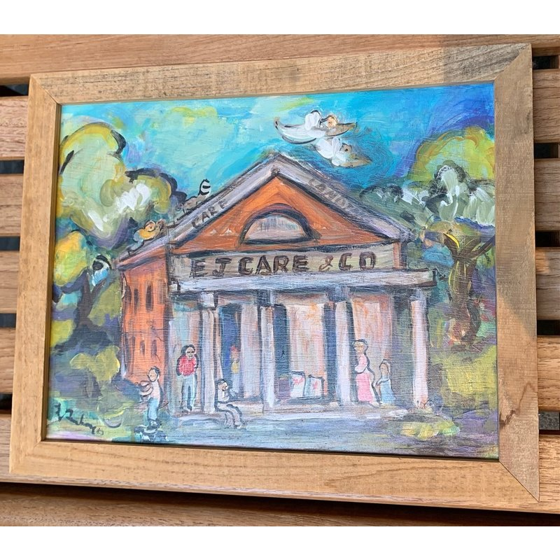 Lorraine Gendron Lorraine Gendron Cajun Store Painting 12 1/2 x 15 1/2