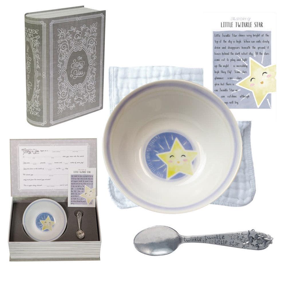 Salisbury Bowl and Spoon Set Star