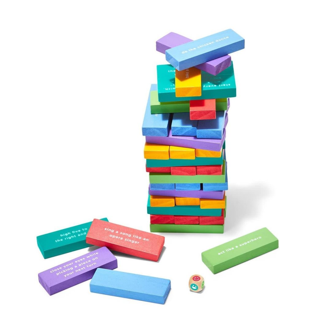 Two's Company Kid's Tumbling Block Game