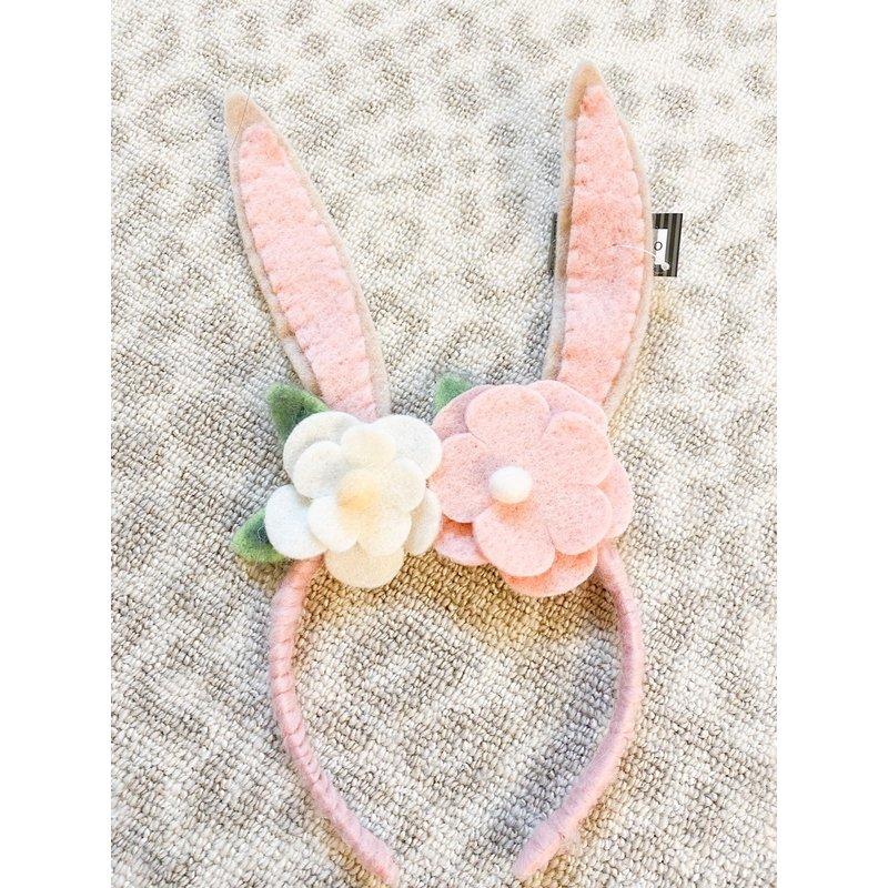 One Hundred 80 Degrees Easter Bunny Ears Felt Headband