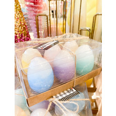One Hundred 80 Degrees Boxed Easter Egg Candles Set/6