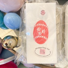Monique Perry Decorated Egg Guest Towels