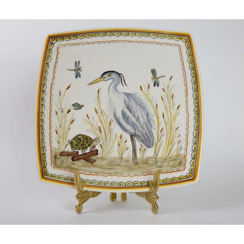 Pamela Sack Pamela Sack- Heron Serving Plate