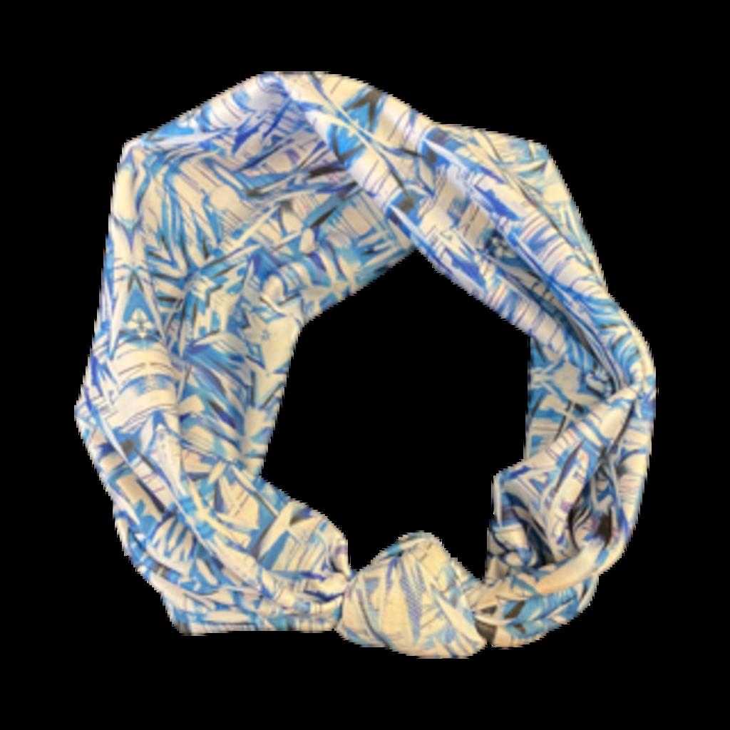 Amanda Talley Amanda Talley Headband Blue/White