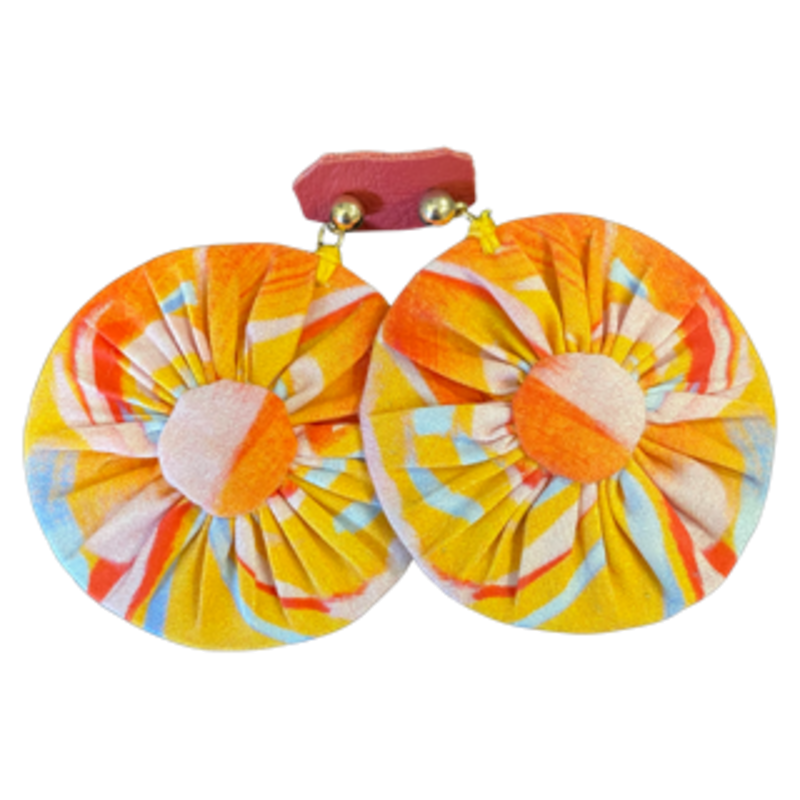 Amanda Talley Amanda Talley Earrings Orange