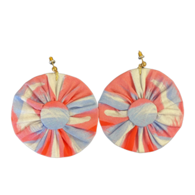 Amanda Talley Amanda Talley Earrings Pink/Blue