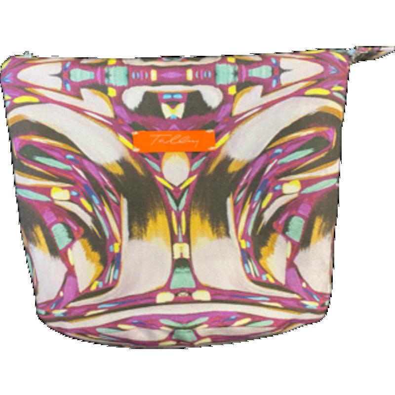 Amanda Talley Amanda Talley Cosmetic Bag Purple