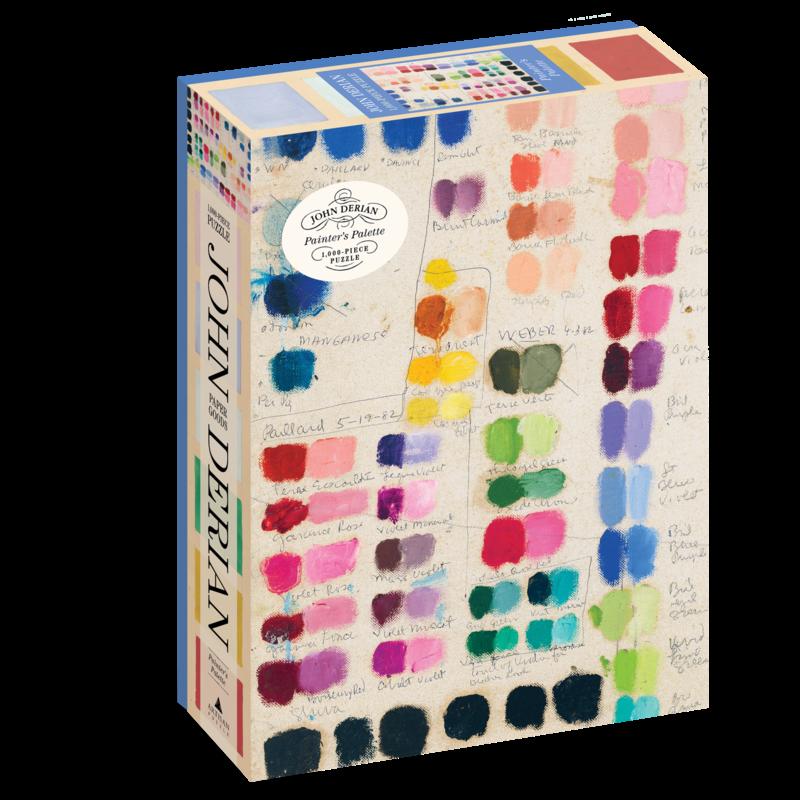 Workman Publishing Co. Painter's Palette 1,000 Piece Puzzle