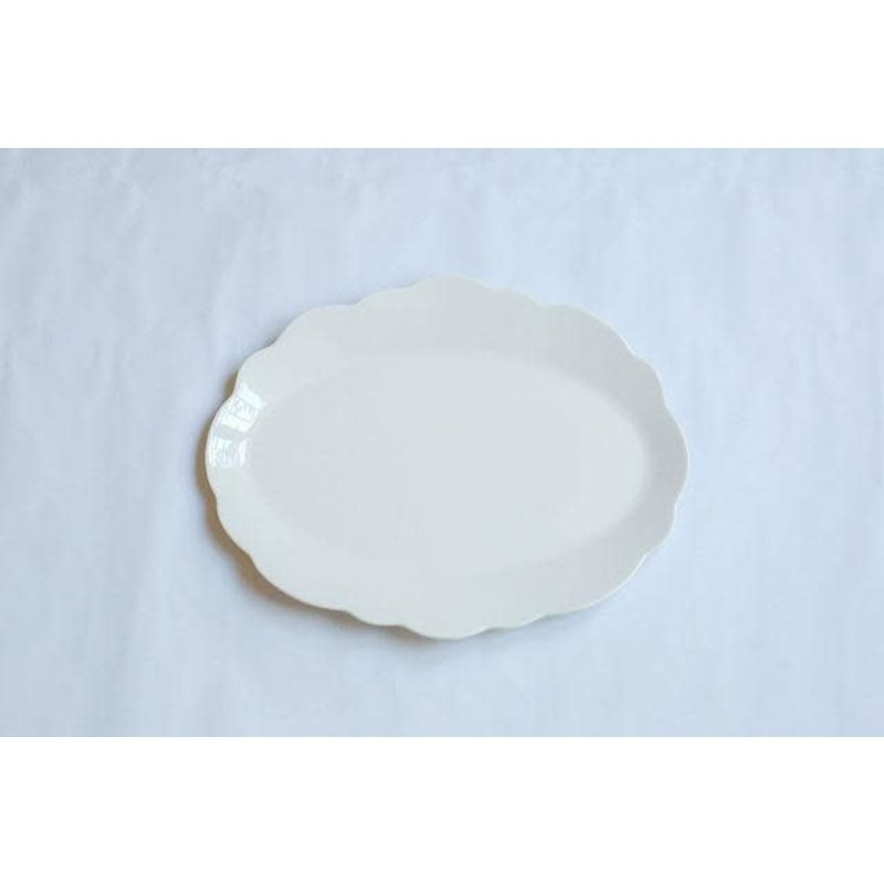 Relish Scallop Serving Oval