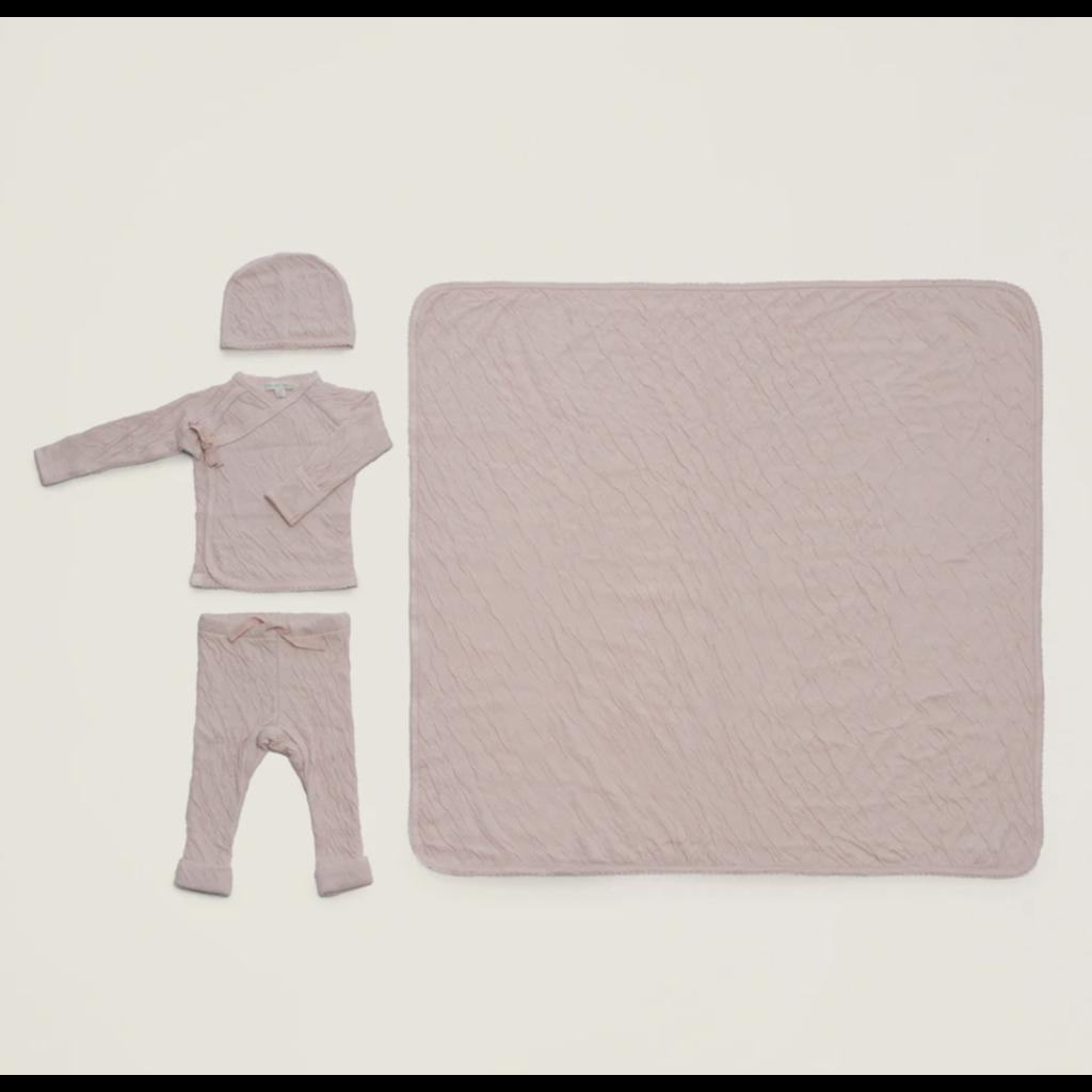 Barefoot Dreams Barefoot Bundle Infant Set/4- Blush
