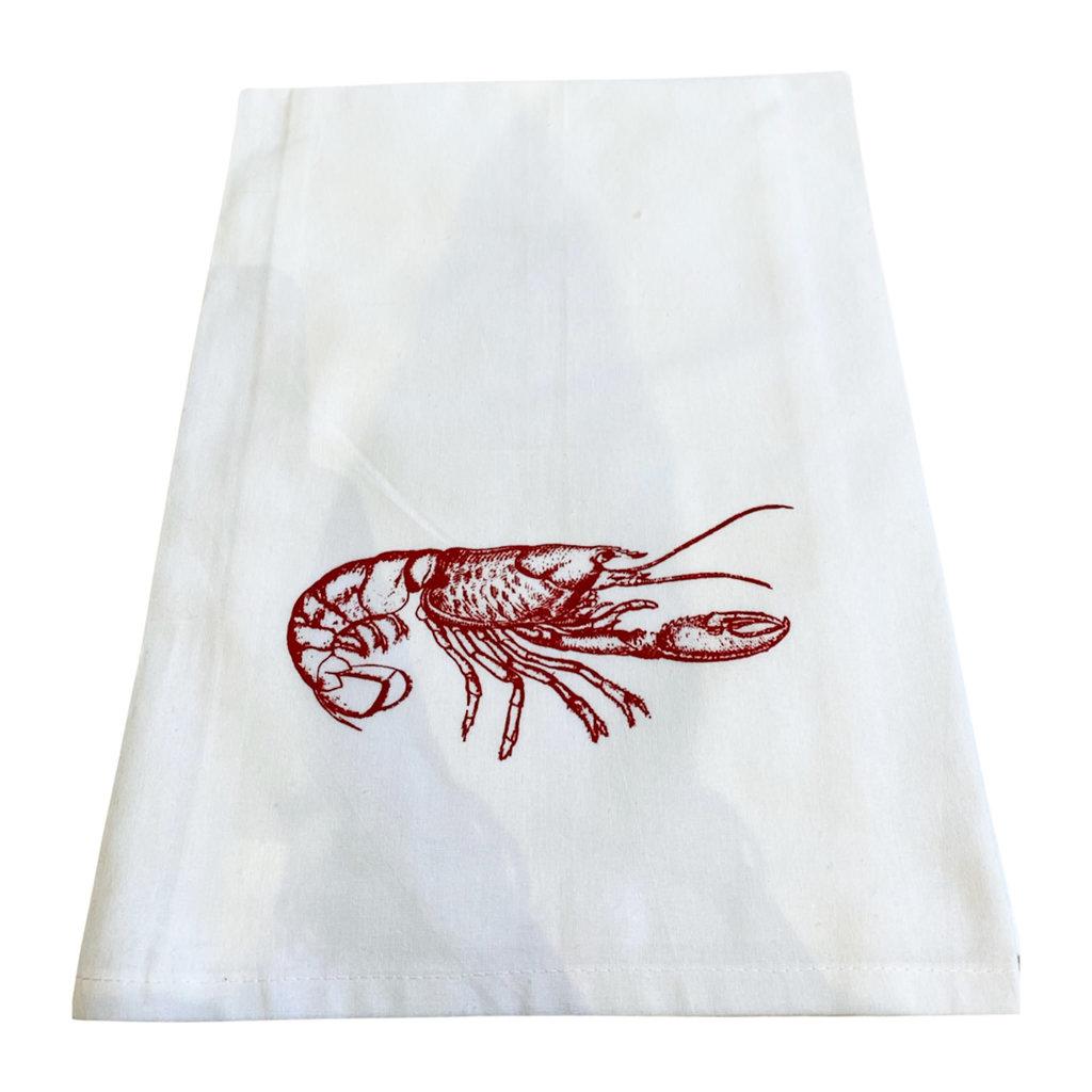 Monique Perry AL (Crawfish) Tea Towel