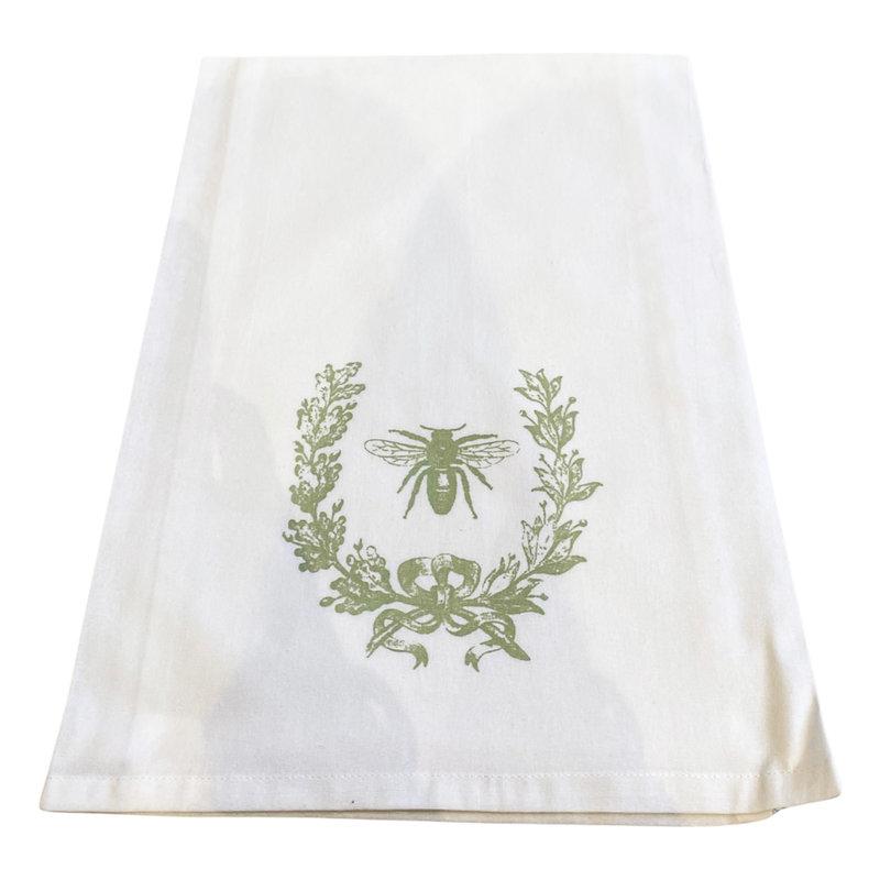 Monique Perry Beeutiful Tea Towel- Green