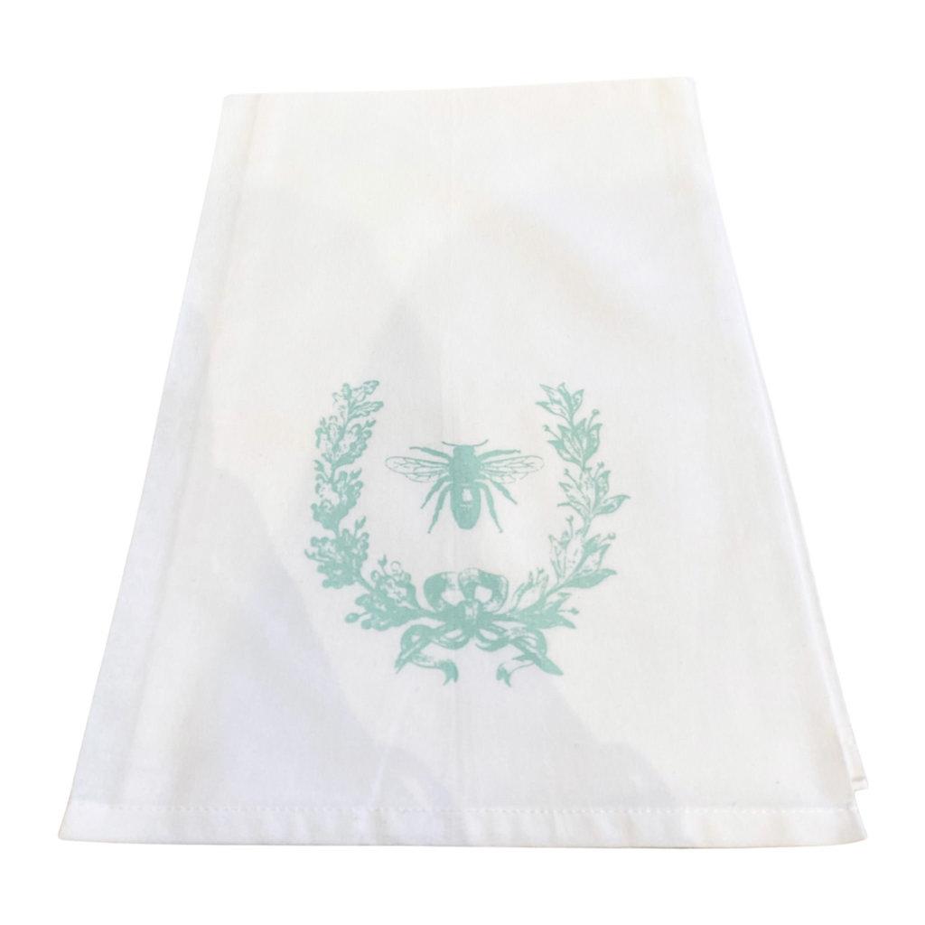 Monique Perry Beeutiful Tea Towel- Mint