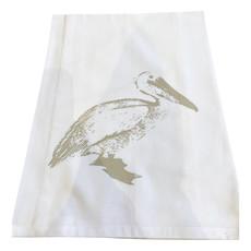 Monique Perry Pelican Tea Towel