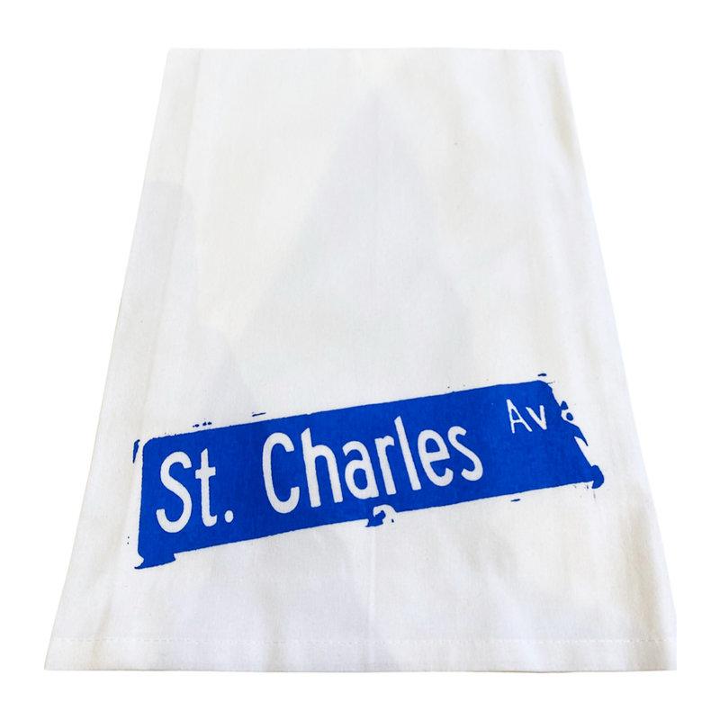 Monique Perry St Charles Ave Tea Towel