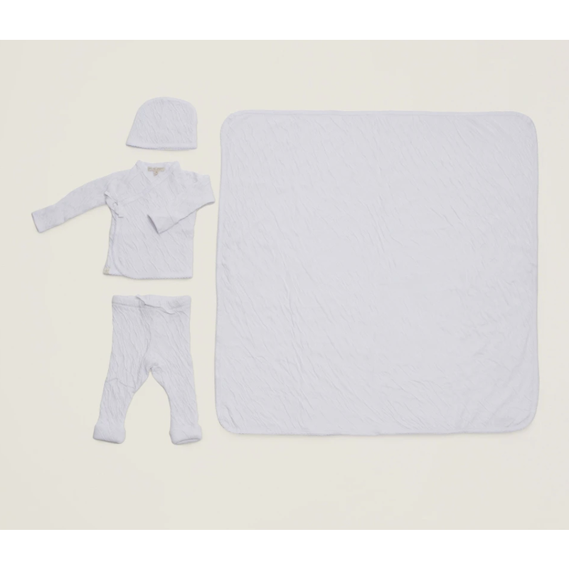 Barefoot Dreams Barefoot Bundle Infant Set/4- White