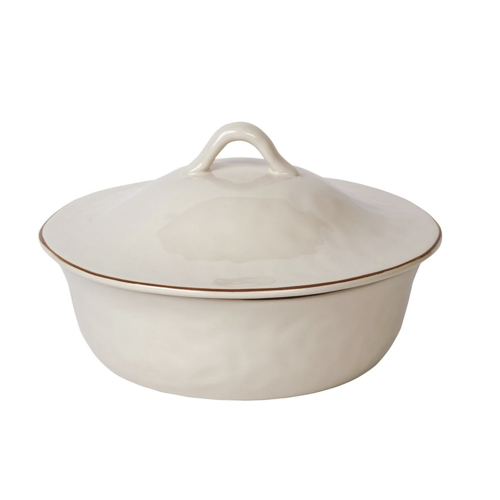 Skyros Designs Cantaria Round Covered Casserole Matte White