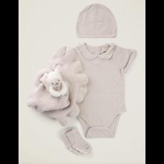 Barefoot Dreams Cozy Chic Infant Set/4 Sand- 3-6M
