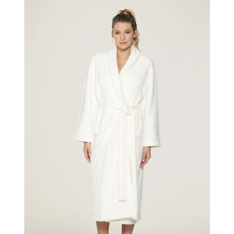 Barefoot Dreams Cozy Chic Robe-Pearl
