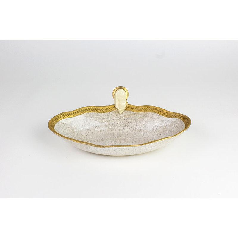 Pamela Sack Pamela Sack- Ave Maria Bowl (Ivory/Large)