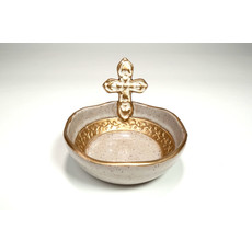 Pamela Sack Pamela Sack- Cross Bowl (Ivory/Small)