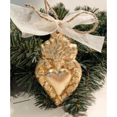 Susan Lange Susan Lange Sacred Heart Ornament