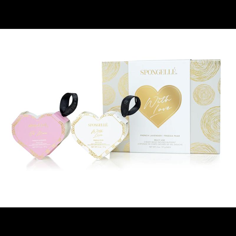 Spongelle Valentine's Day Gift Set with Love