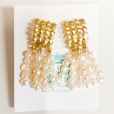 Laura McClendon Basket weave with pearls