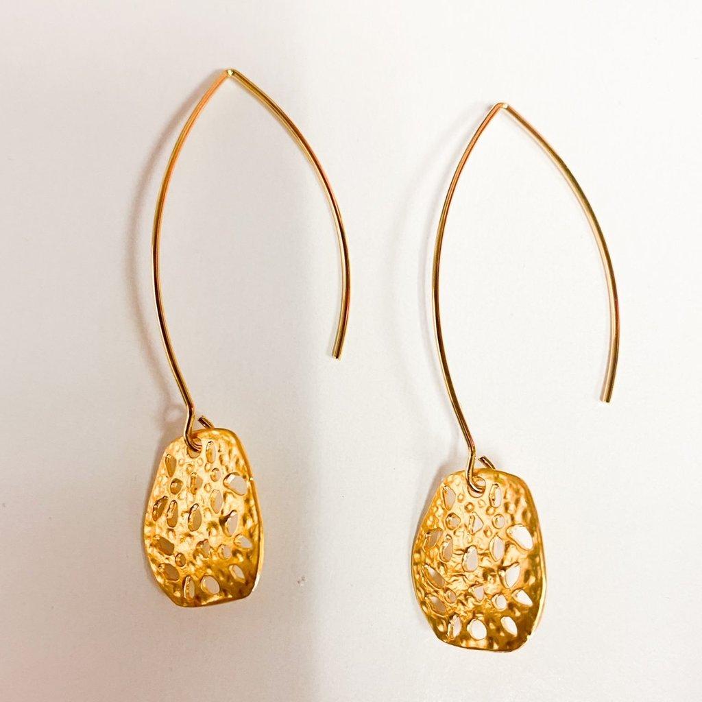 Laura McClendon Gold Beehive Long