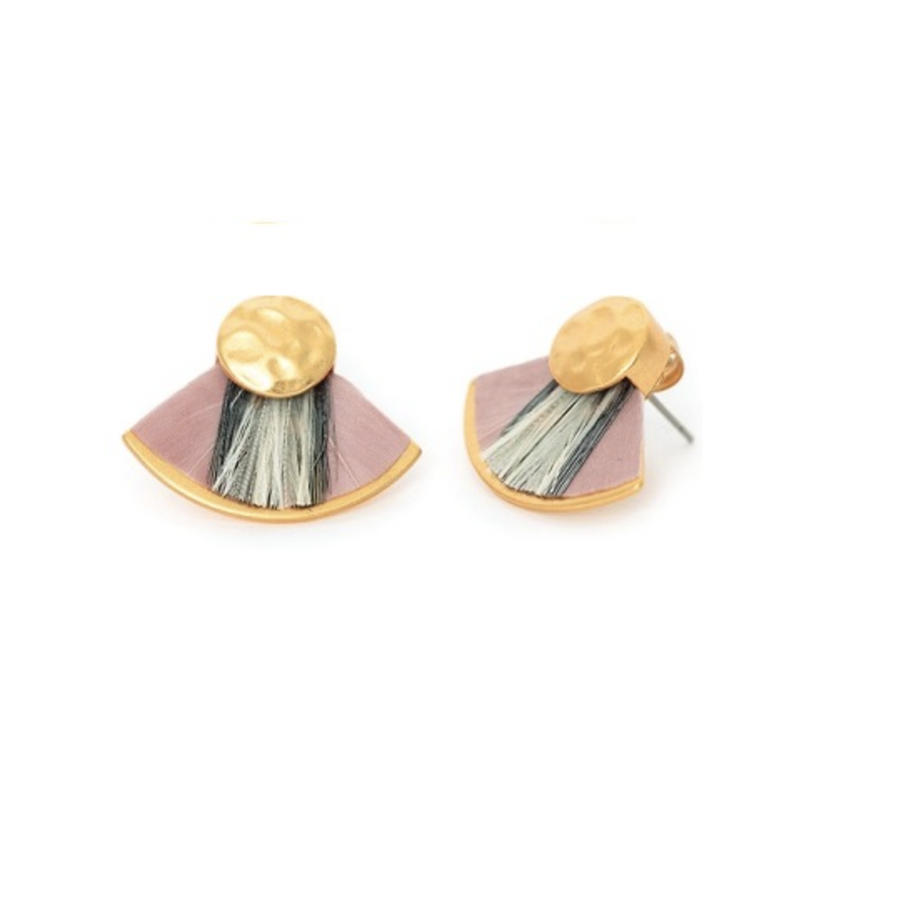 Brackish Earring- Blushing Bride