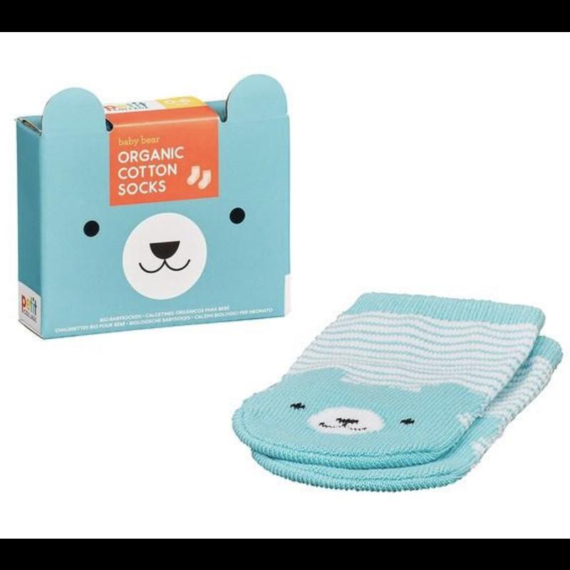 Hachette Organic Baby Socks 0-6 mo.